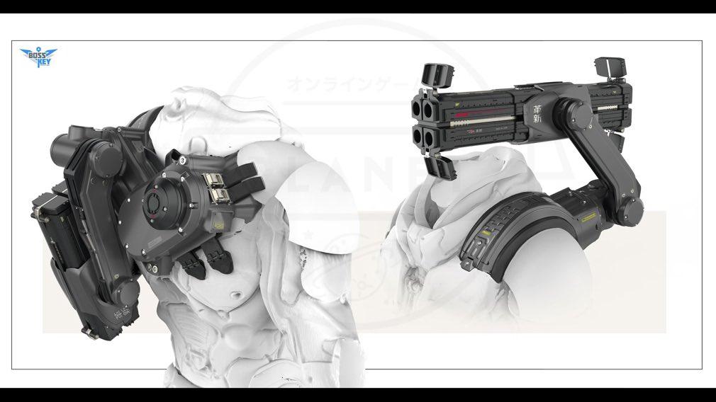ローブレイカーズ(LawBreakers) 武器コンセプトアート
