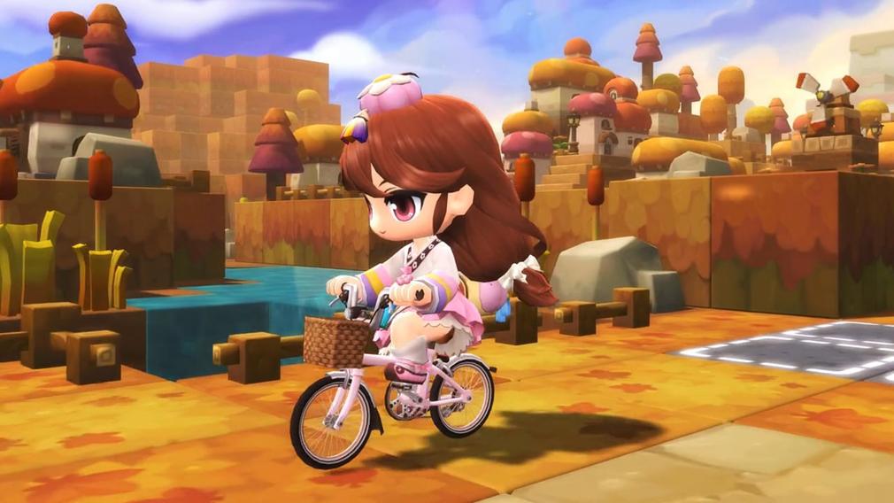 メイプルストーリー2(MAPLE STORY2) 自転車移動