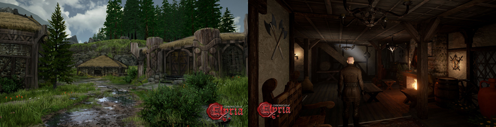 Chronicles of Elyria(クロニクルズ オブ イリリア) 街