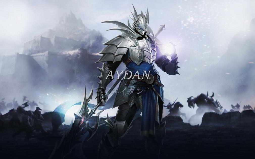 リネージュ エターナル(Lineage Eternal)LE ヒ―ローキャラクター『エイダン(aydan)』