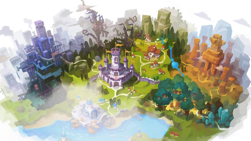 メイプルストーリー2(MAPLE STORY2) ワールドマップ