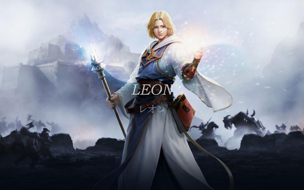 リネージュ エターナル(Lineage Eternal)LE ヒ―ローキャラクター『レオン(leon)』
