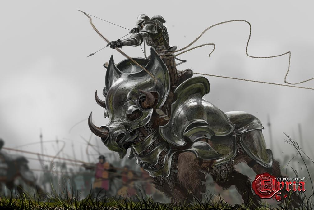 Chronicles of Elyria(クロニクルズ オブ イリリア) バトルコンセプトアート