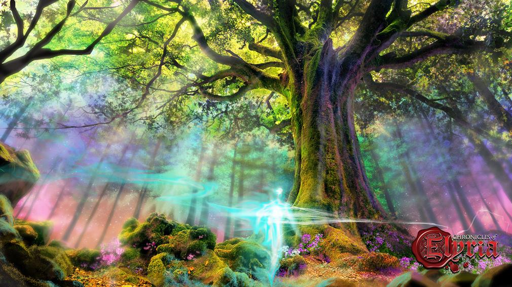 Chronicles of Elyria(クロニクルズ オブ イリリア) 生命の樹コンセプトアート