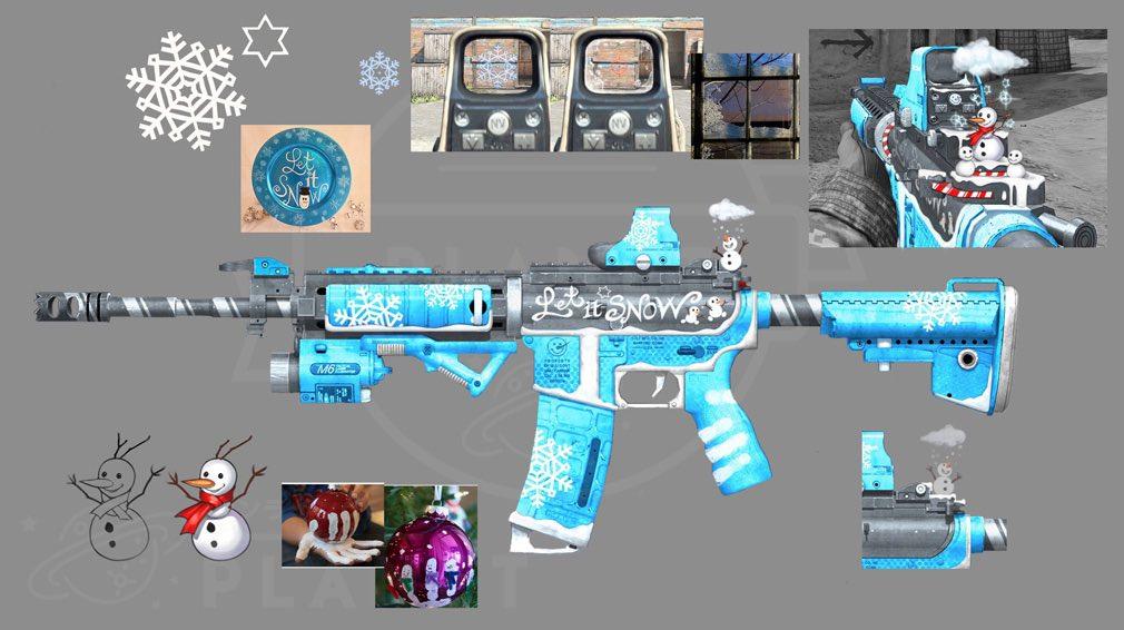 BATTLE CARNIVAL(バトルカーニバル) 武器デザインアート
