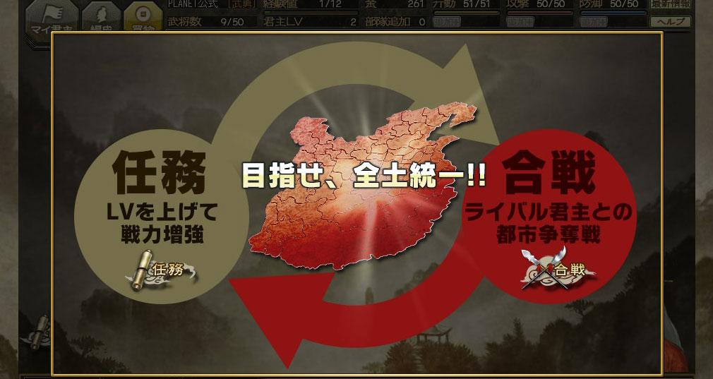 100万人の三國志 Special 任務と合戦