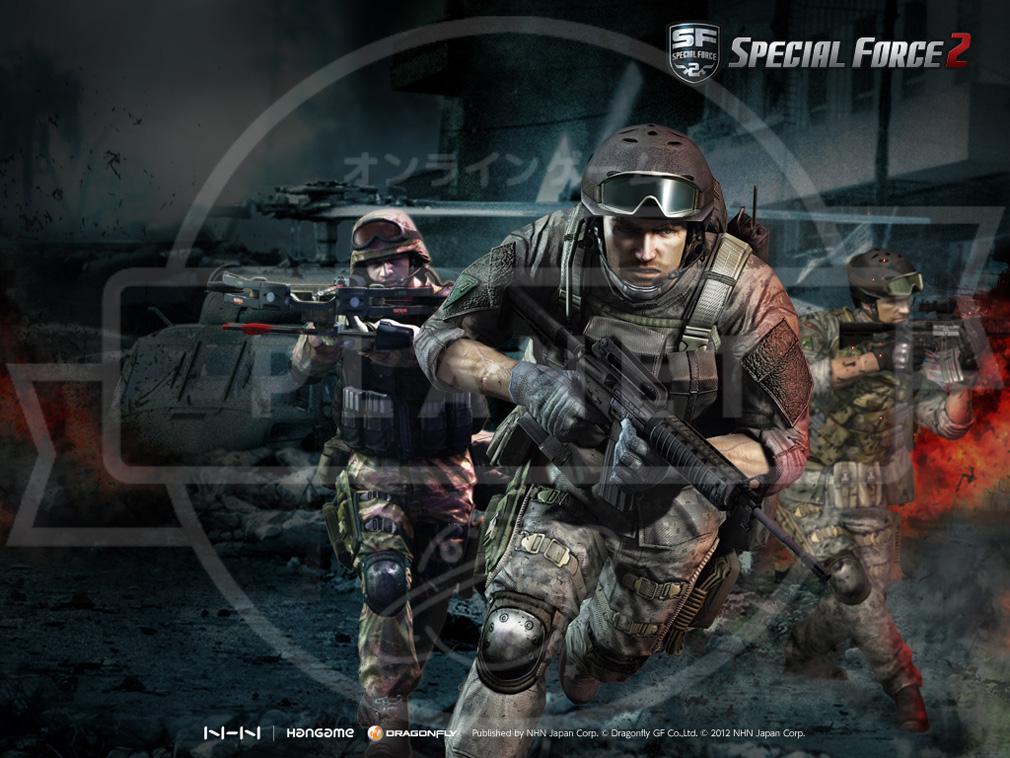 スペシャルフォース2(SPECIAL FORCE2) sf2 キービジュアル