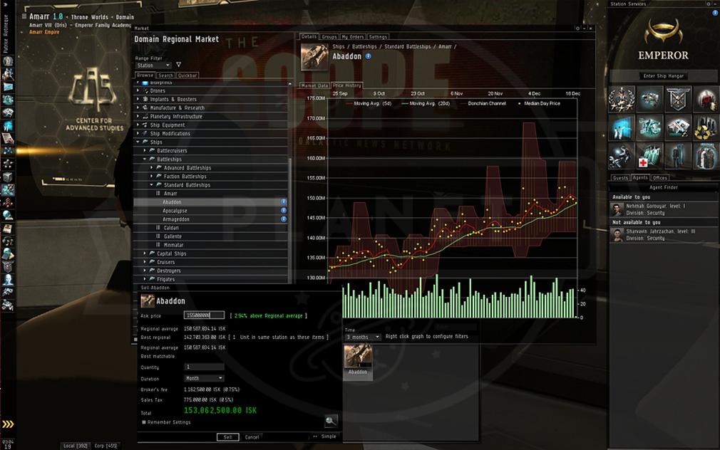 EVE Online(イヴ オンライン) 経済