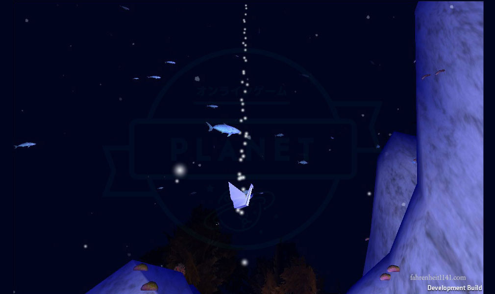 アンダーウォーター(Under Water) ワープポイント折り鶴