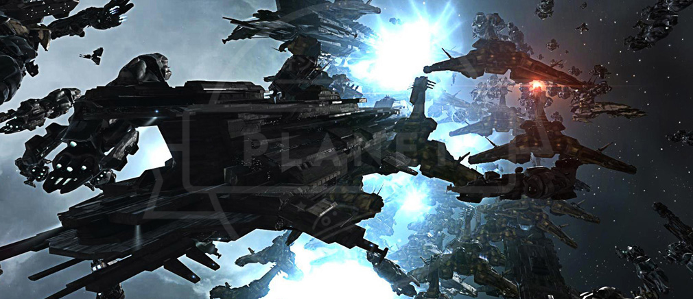 EVE Online(イヴ オンライン) バトルスクリーンショット