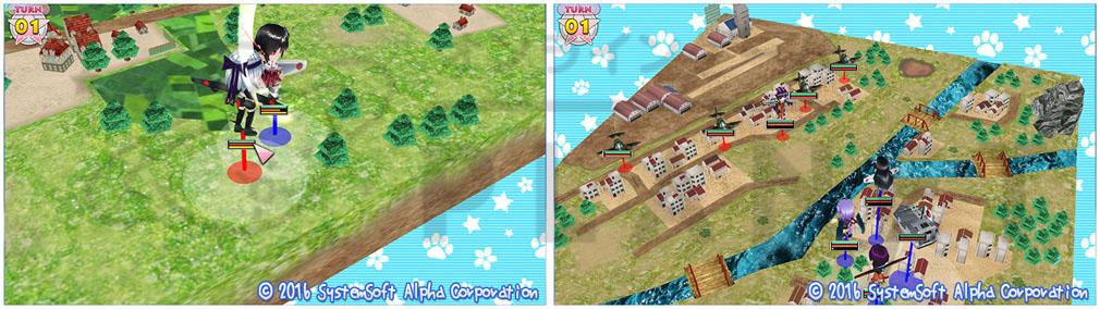 萌え萌え2次大戦(略)3 ゲーム内スクリーンショット