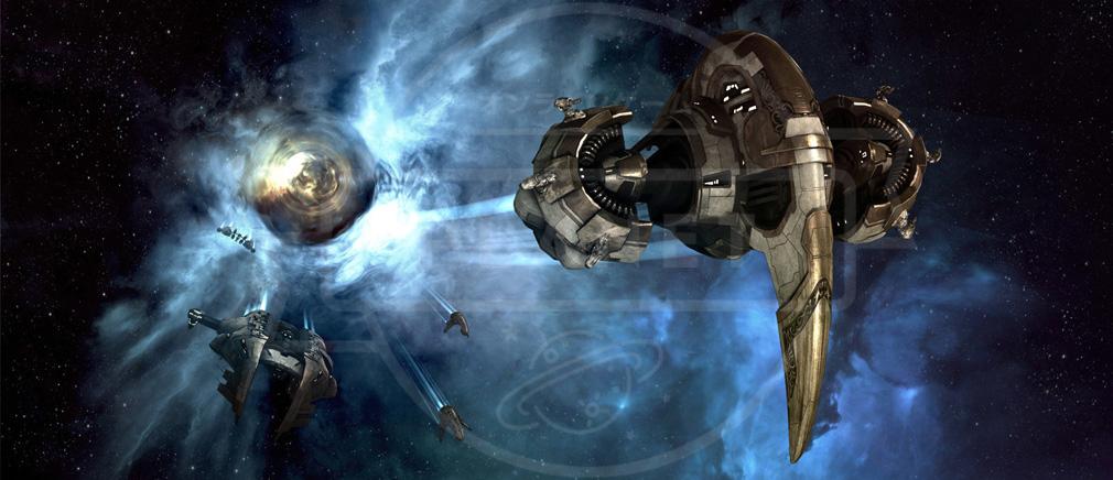 EVE Online(イヴ オンライン) アマー艦船