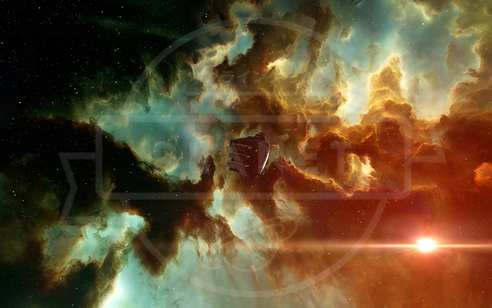 EVE Online(イヴ オンライン) 宇宙空間スクリーンショット