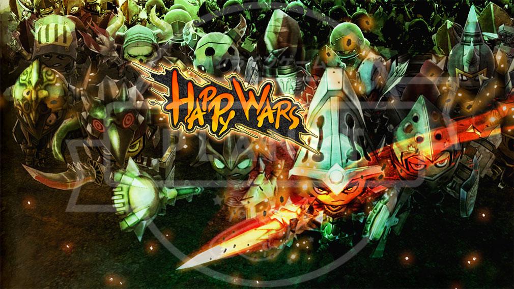 Happy Wars(ハッピーウォーズ)Win10版 メインビジュアル