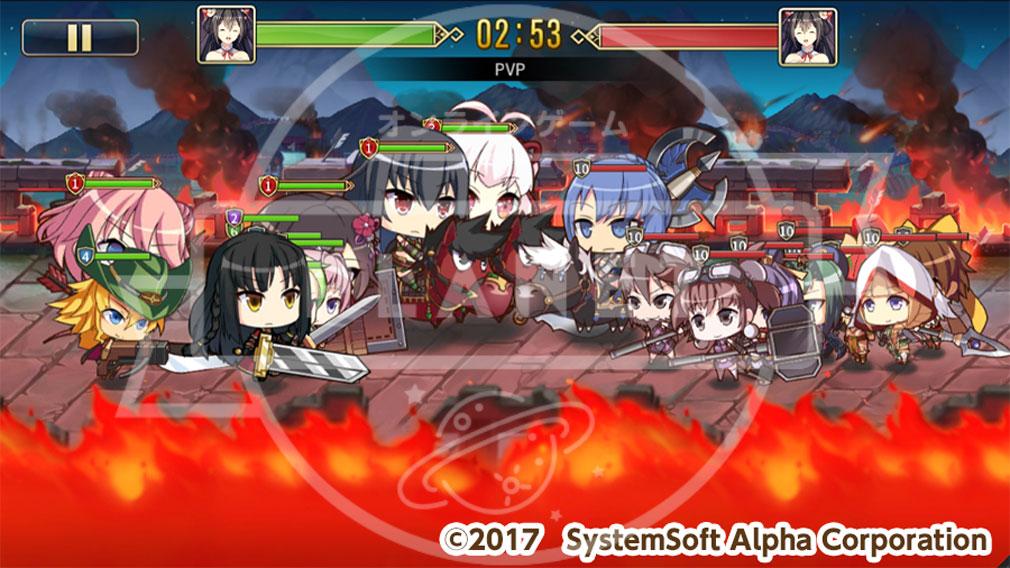 三極姫大戦 PC 戦争モード【闘技場】