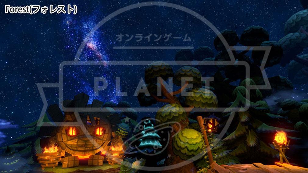 Happy Wars(ハッピーウォーズ)Win10版 MAP Forest(フォレスト)