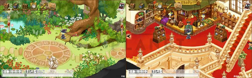 魔法学校アヴァロン ゲーム画面