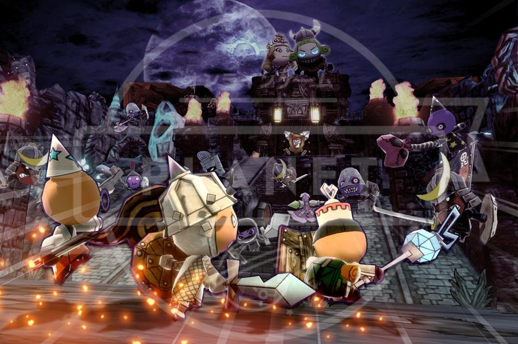Happy Wars(ハッピーウォーズ)Win10版 ストーリーモード