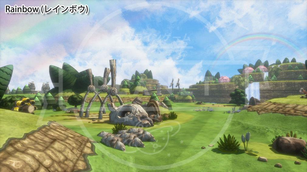 Happy Wars(ハッピーウォーズ)Win10版 MAP Rainbow(レインボウ)