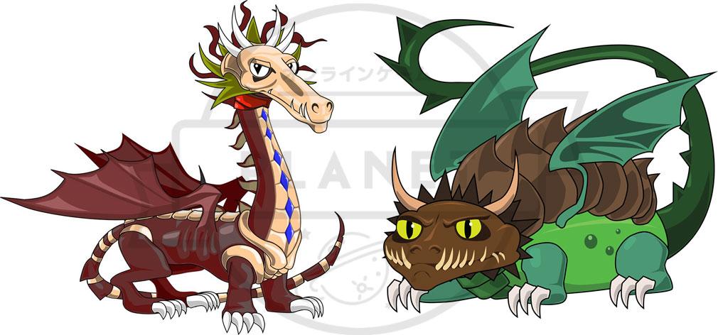 バトルドラゴン ~いにしえの財宝~ ドラゴンズ
