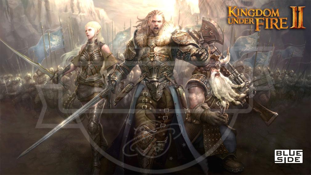 Kingdom Under Fire2(キングダムアンダーファイア)KUF2 キービジュアル