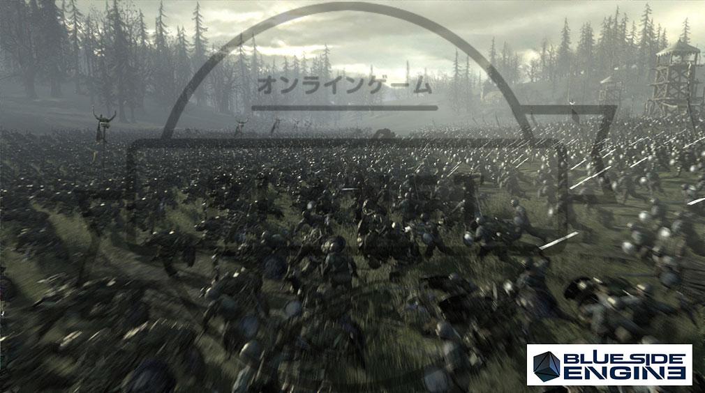 Kingdom Under Fire2(キングダムアンダーファイア)KUF2 ブルーサイドエンジン2搭載グラフィックス