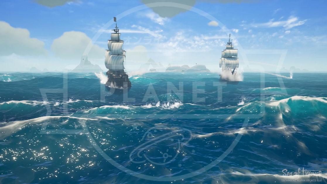Sea of Thieves(シーオブシーヴス) PC 海面グラフィックス