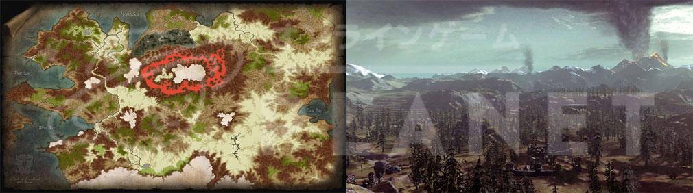 Kingdom Under Fire2(キングダムアンダーファイア)KUF2 ワールドマップ