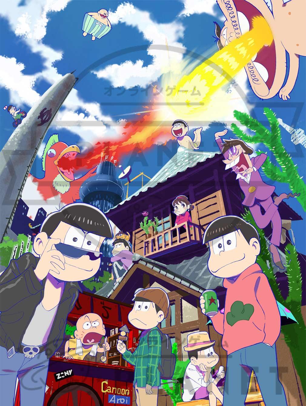おそ松さん ダメ松.コレクション~6つ子の絆~ テレビアニメ版