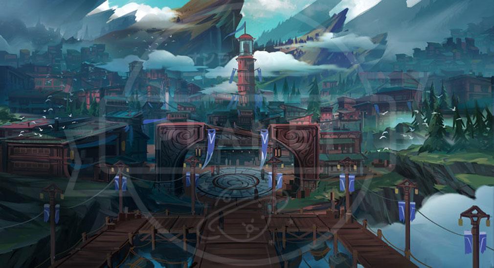 Dauntless(ドーントレス) 世界観、街のアートコンセプト