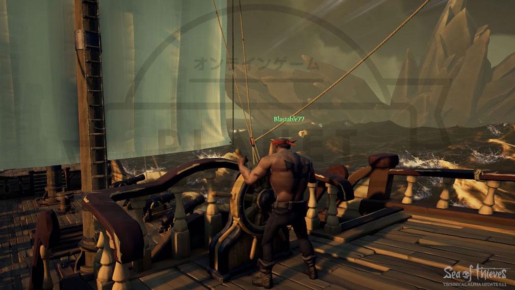 Sea of Thieves(シーオブシーヴス) PC 舵取り