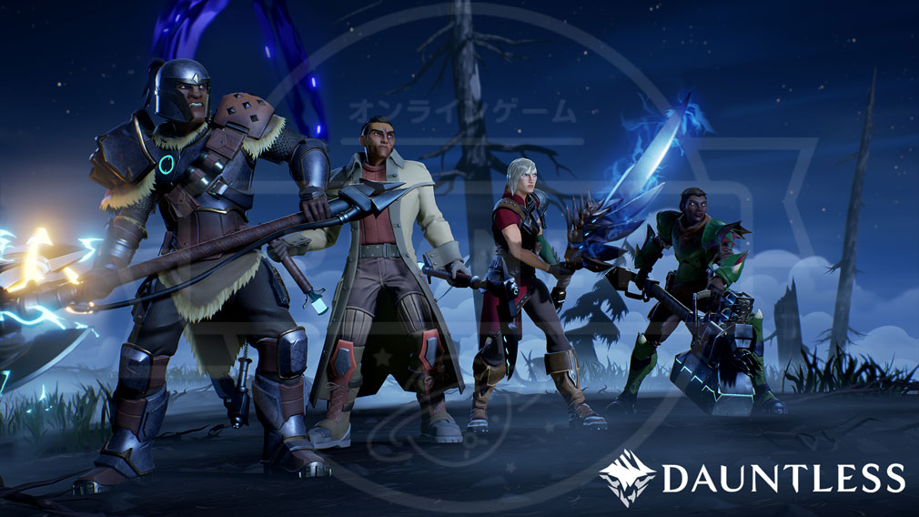 Dauntless(ドーントレス) 4人のオンライン協力バトル