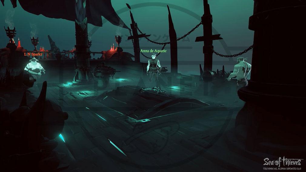 Sea of Thieves(シーオブシーヴス) PC 死亡世界