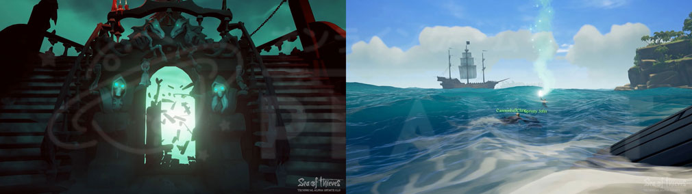 Sea of Thieves(シーオブシーヴス) PC 死亡復活演出