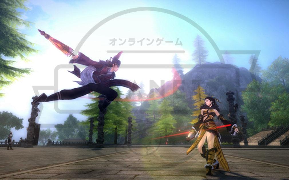 九陰真経オンライン(Age of Wushu) 武侠お馴染みバトル