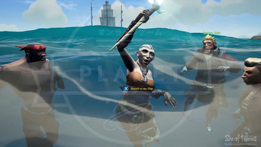 Sea of Thieves(シーオブシーヴス) PC リスポーン