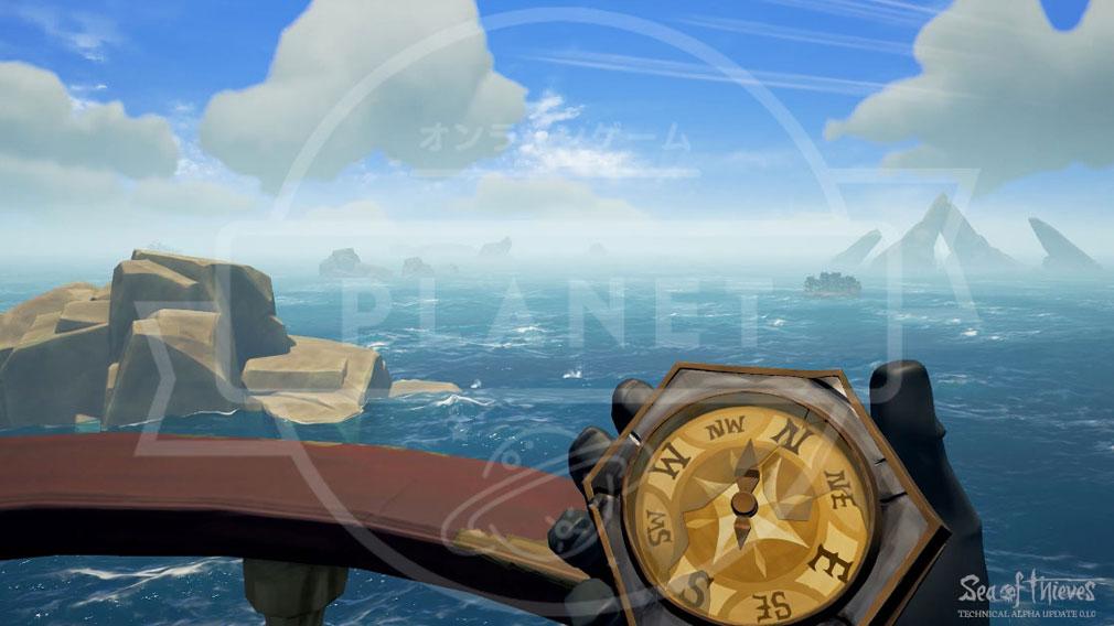 Sea of Thieves(シーオブシーヴス) PC 航海の為のコンパス