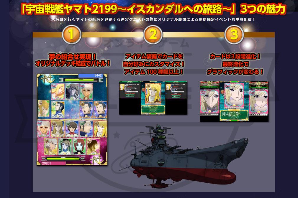 宇宙戦艦ヤマト2199 イスカンダルへの旅路 PC 概要紹介