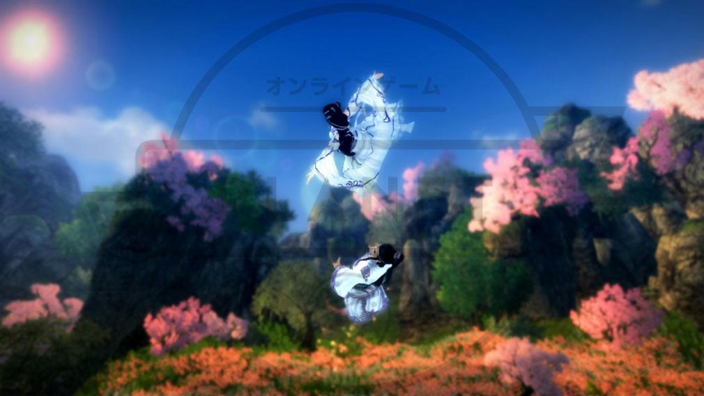 九陰真経オンライン(Age of Wushu) 軽功バトル