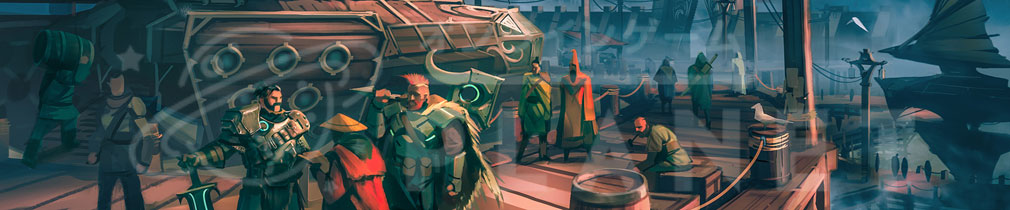 Dauntless(ドーントレス) ゲームアートコンセプト