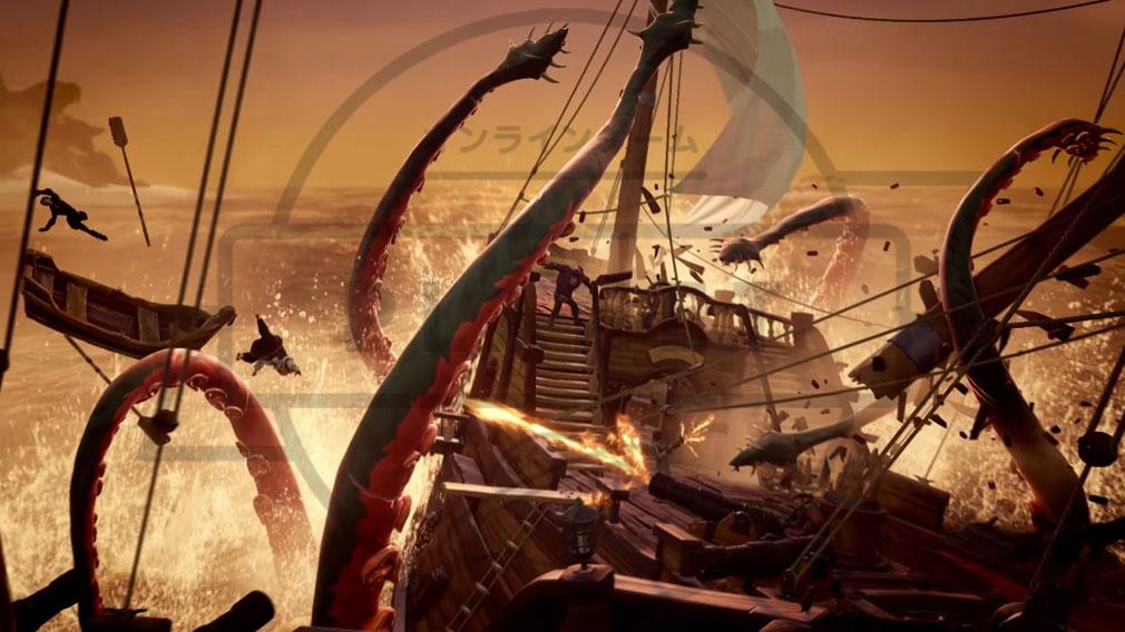 Sea of Thieves(シーオブシーヴス) PC クラーケン襲撃