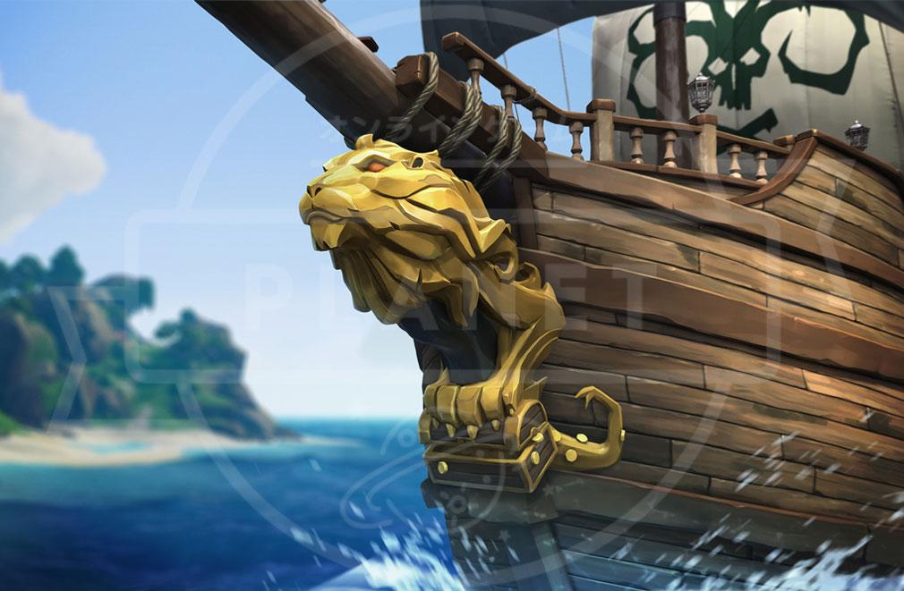 Sea of Thieves(シーオブシーヴス) PC 船首ライオンカスタマイズ