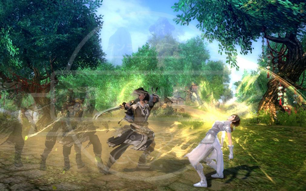 九陰真経オンライン(Age of Wushu) スキル演出