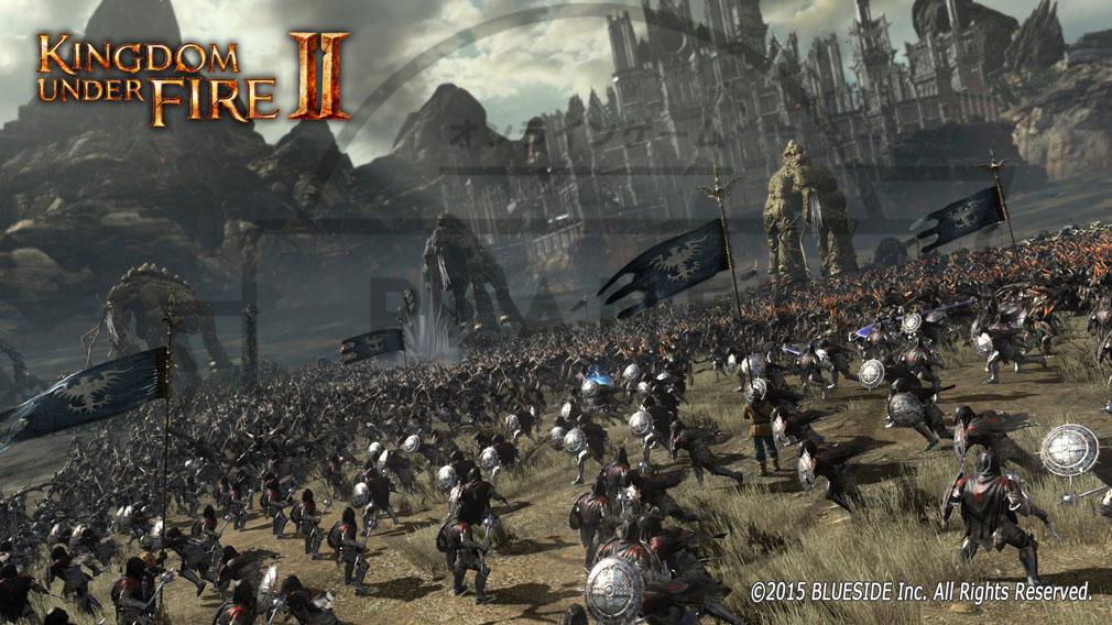 Kingdom Under Fire2(キングダムアンダーファイア)KUF2 軍隊システム