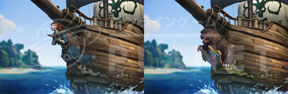 Sea of Thieves(シーオブシーヴス) PC 船首カスタマイズコンセプトアート