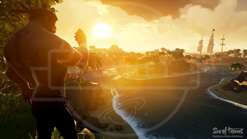 Sea of Thieves(シーオブシーヴス) PC 島の景色