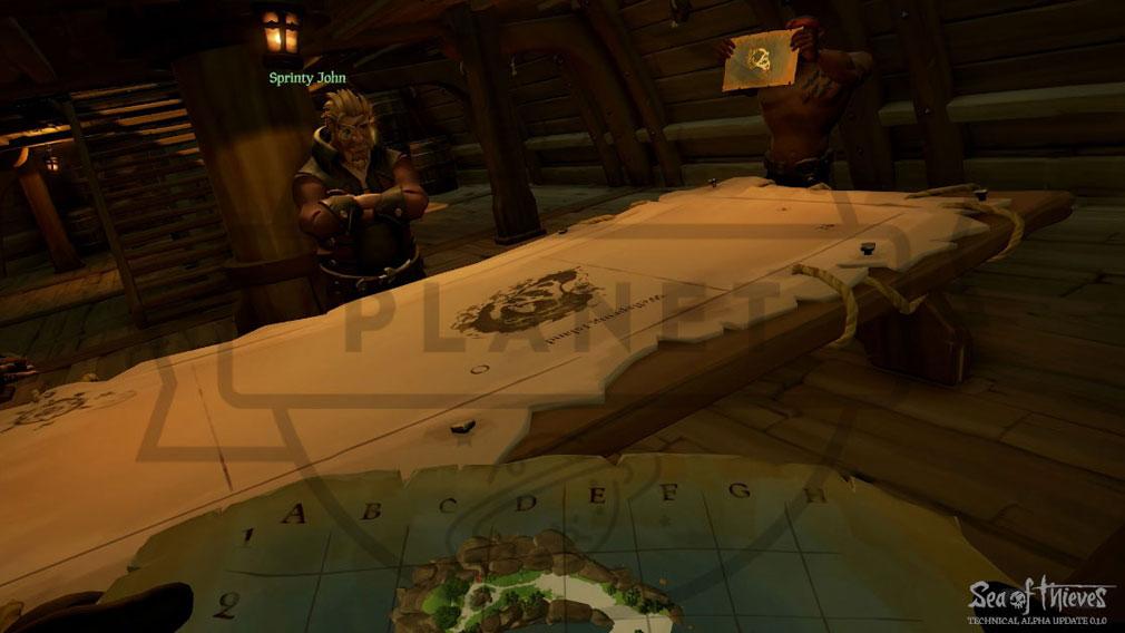 Sea of Thieves(シーオブシーヴス) PC 船内ミーティング