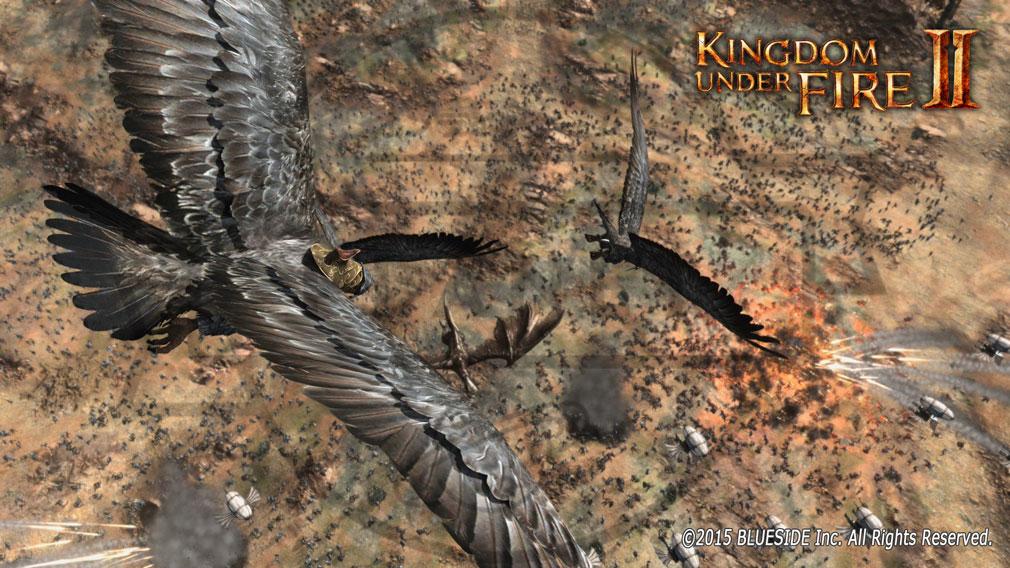 Kingdom Under Fire2(キングダムアンダーファイア)KUF2 飛行
