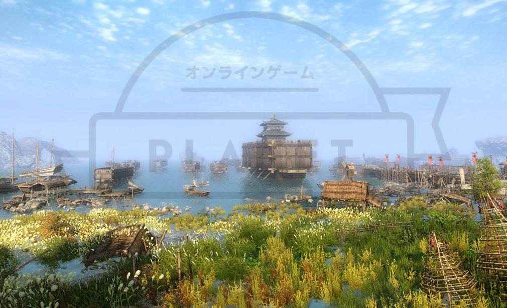九陰真経オンライン(Age of Wushu) 港