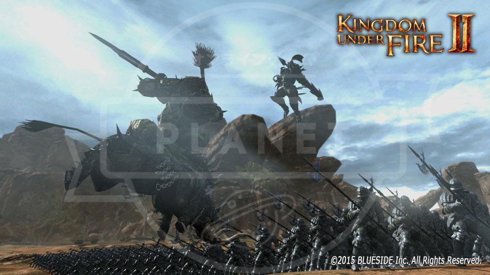 Kingdom Under Fire2(キングダムアンダーファイア)KUF2 軍隊バトル